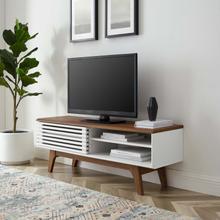 "See Details - Render 48"" TV Stand in Walnut White"