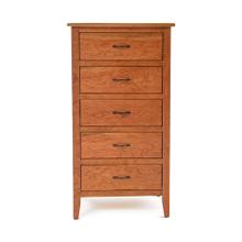 Denver 5 Drawer Lingerie Chest - Solid Cherry Wood