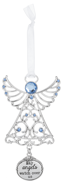 Christmas Ornament - May angels watch over us