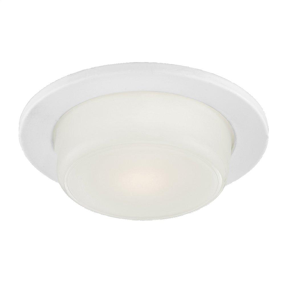 See Details - TRIM,6-INCH SHOWER DROPPED GLASS - White