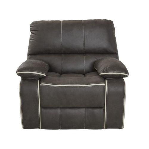Arlington Charcoal Manual Sofa Recliner, Grey