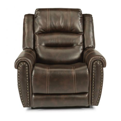 Jeremiah Fabric Power Lift Recliner with Power Headrest