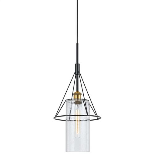60W Rexburgmetal Glass Mini Pendant (Edison Bulb Not Included)
