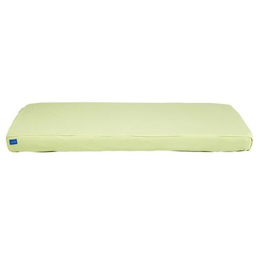 Mattress Cover (Twin) : Green/Soft Yellow