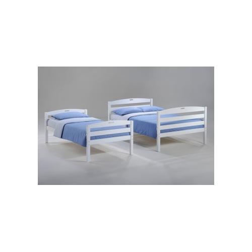Night and Day Furniture - Sesame Twin Full Bunk