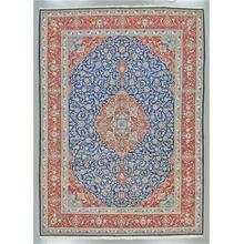 """KASHAN 000107952 IN BLUE RED 9'-10"""" x 13'-10"""""""