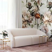 View Product - Yara Pleated Beige Velvet Sofa