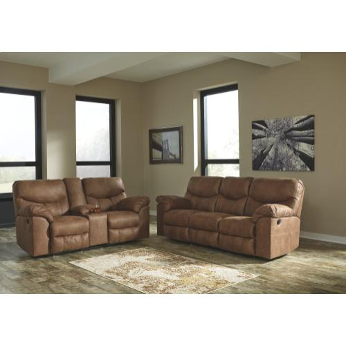 Boxberg Reclining Loveseat With Console