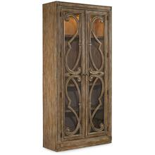 Solana Bunching Curio Cabinet