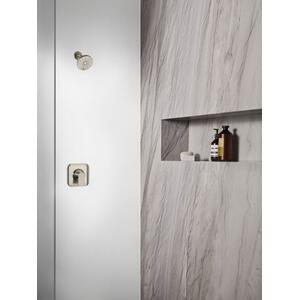 Genta brushed nickel posi-temp® shower only
