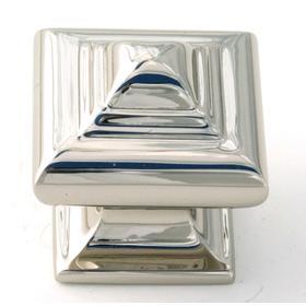 Geometric Knob A1520 - Polished Chrome