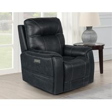 Lexington Triple-Power Media Recliner, Ocean Blue