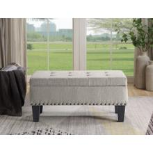 Clement Upholstery Storage Ottoman Bench With Lifting Lid