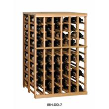 Apex 7' Half Height Modular Wine Rack with Tabletop