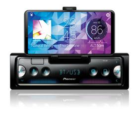 Pioneer Smart Sync with Alexa Receiver Featuring Built-In Cradle for Smartphone, enhanced multimedia functions, USB and Built-in Bluetooth