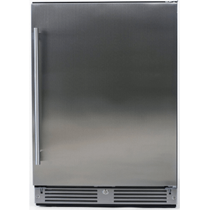 "XO APPLIANCEOutdoor Refrigerator 24"" Solid SS RH"