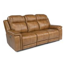 Kingsley Power Reclining Sofa with Power Headrests