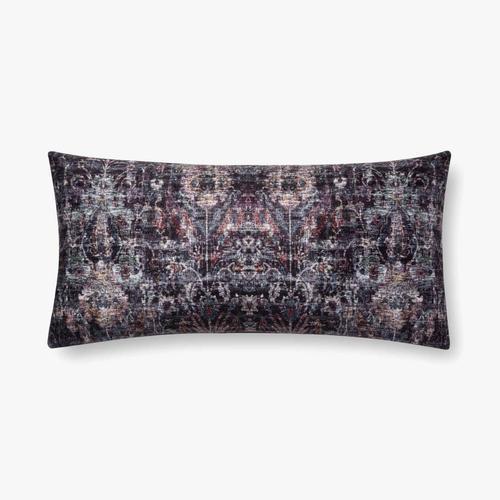 P0686 Black / Multi Pillow
