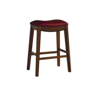 """See Details - Fiesta 30"""" Backless Bar Stool in Red"""