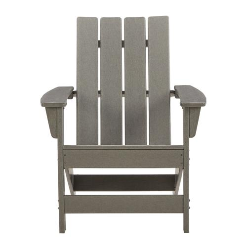 Ashley - Outdoor Chair With End Table