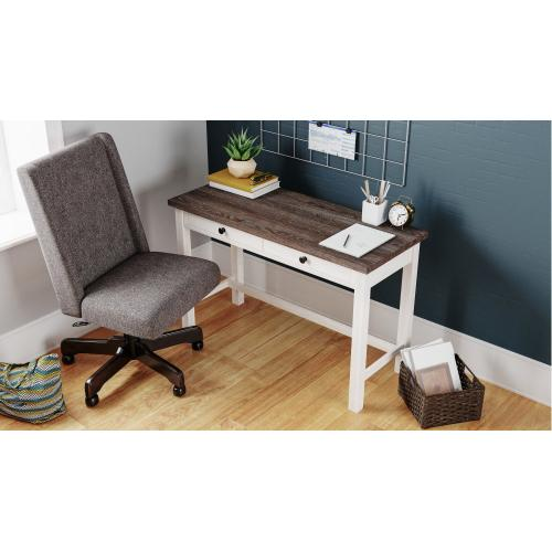Dorrinson Two-Tone Home Office Desk
