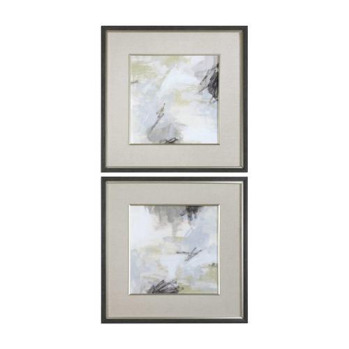 Abstract Vistas Framed Prints, S/2