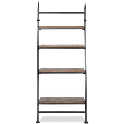 Revival - Leaning Bookcase - Spanish Grey Finish