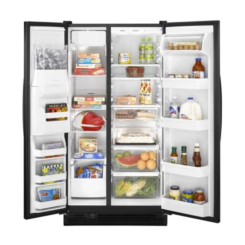 Side-by-Side Refrigerator with Adjusti-Temp Deli Drawer