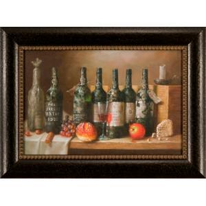 Wine Bottles 20x30