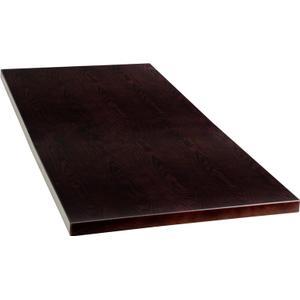 30'' x 48'' Rectangular Walnut Veneer Table Top