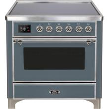 "36"" Inch Blue Grey Freestanding Range"
