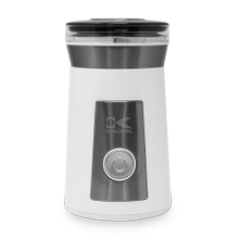 Kalorik Coffee and Spice Grinder, White and Stainless Steel