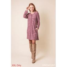 See Details - Viva La Vida Back Lace-Up Knit Dress - XXL (2 pc. ppk.)