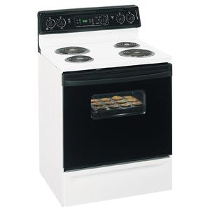 """GE Spectra 30"""" Free-Standing QuickClean Electric Range"""