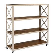 SHELF,FACTORY ANTIQUE WHITE