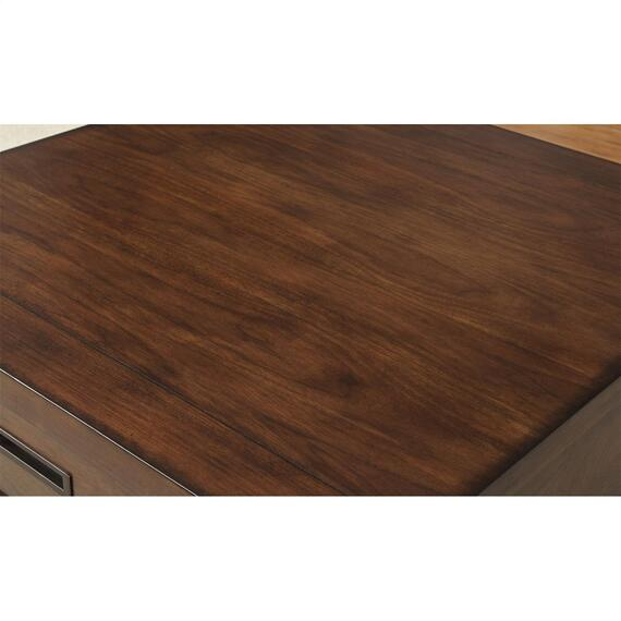 Riverside - Riata - Side Table - Warm Walnut Finish