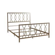 See Details - Metal Bed In Elegant Bronze Finish
