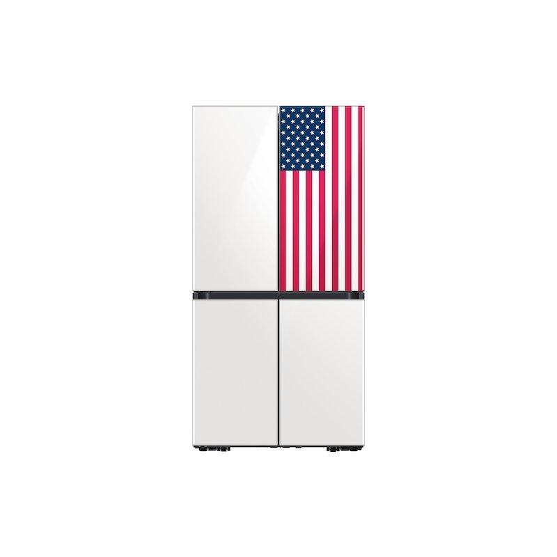 29 cu. ft. Smart BESPOKE 4-Door Flex Refrigerator featuring a Limited Edition Design