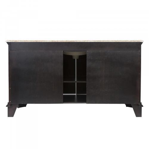 60 inches Single Vanity - Mahogany