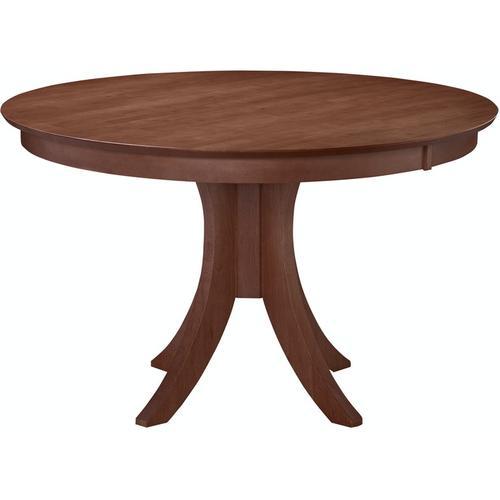 30'' H Siena Pedestal Table in Espresso