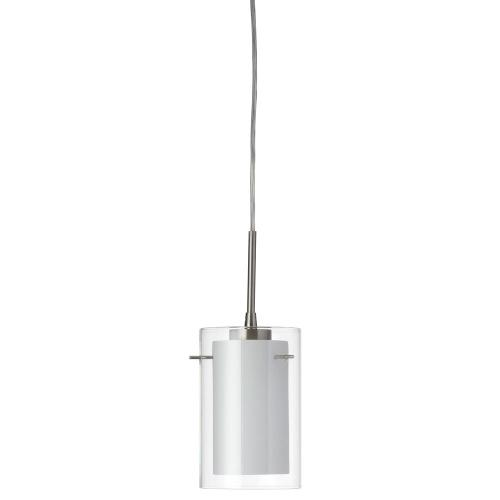 Product Image - Single Pendant Clear/white Glass