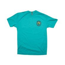 Tiff Blue Shirt w/ Front & Back Graphic-L