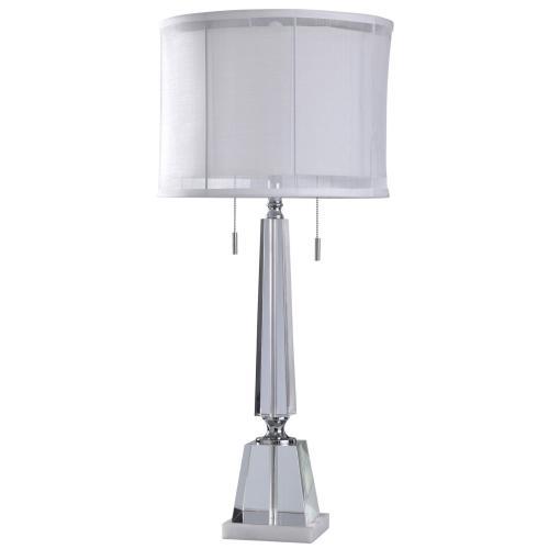 Table Lamp 60 Watts X 2 Twin Pull Chain, Twin Pull Chain Table Lamp