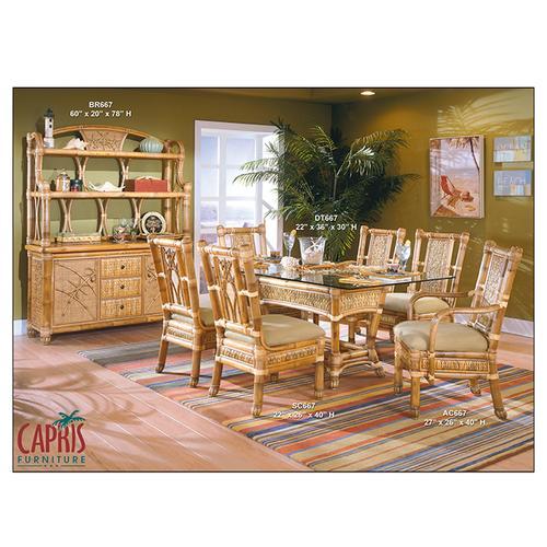 Capris Furniture - 667 Dining 1