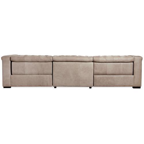 Savion Grandier Power Recliner Sofa w/ Power Headrest