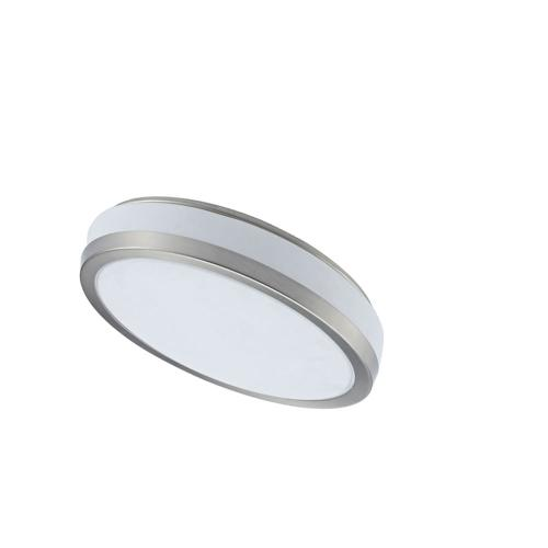 Ceiling Flush 8w 203mm, Satin Chrome