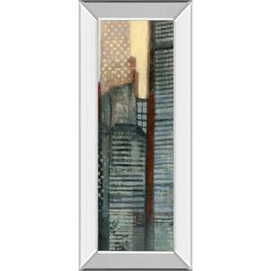 """""""Urban Landscape V"""" By Norman Wyatt Mirror Framed Print Wall Art"""