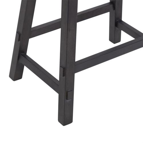 24 Inch Sawhorse Counter Stool - Slate