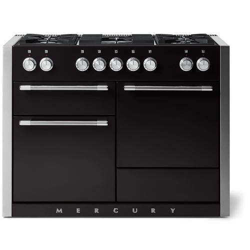"AGA - Aga Mercury 48"" Dual Fuel Model, Matte Black"
