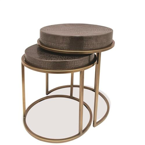 Nesting Side Table - Onyx Finish